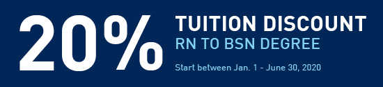 RN to BSN 20% Discount